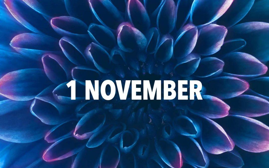1 november öppnar anmälan