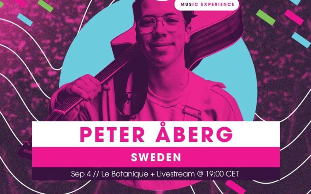 Dags för Peter att tävla i Internationella finalen av Imagine